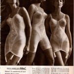 Retro '60s lingerie - corselets foundation garments