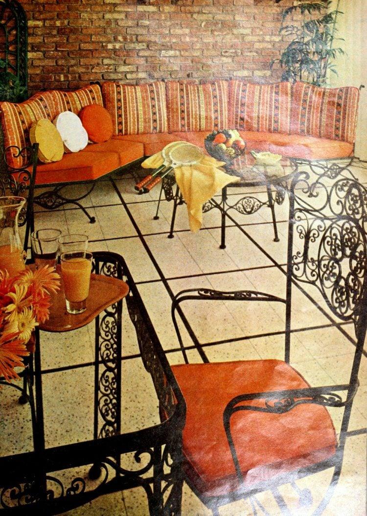Retro 60s outdoor furniture (2)
