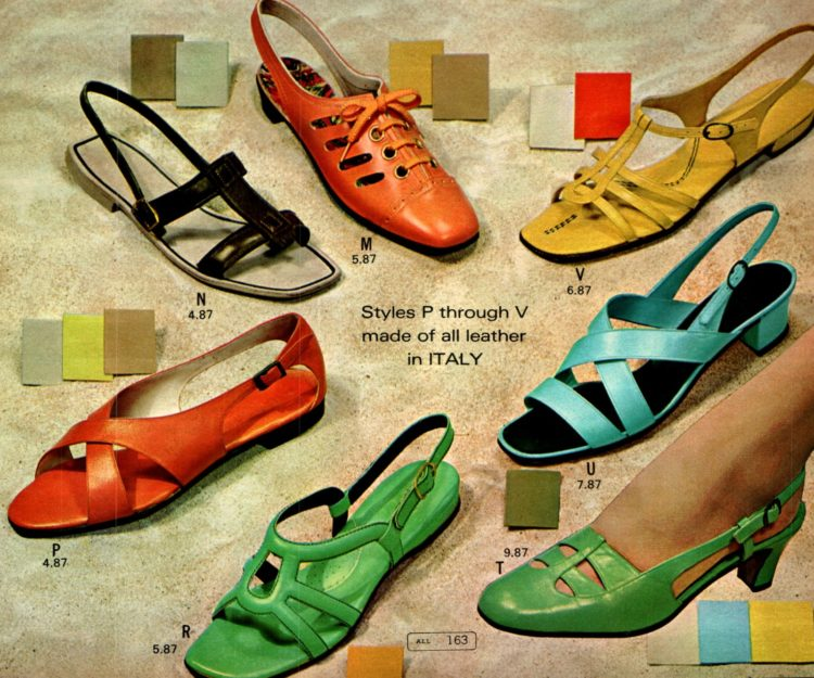 walkin': Retro '60s shoes for women