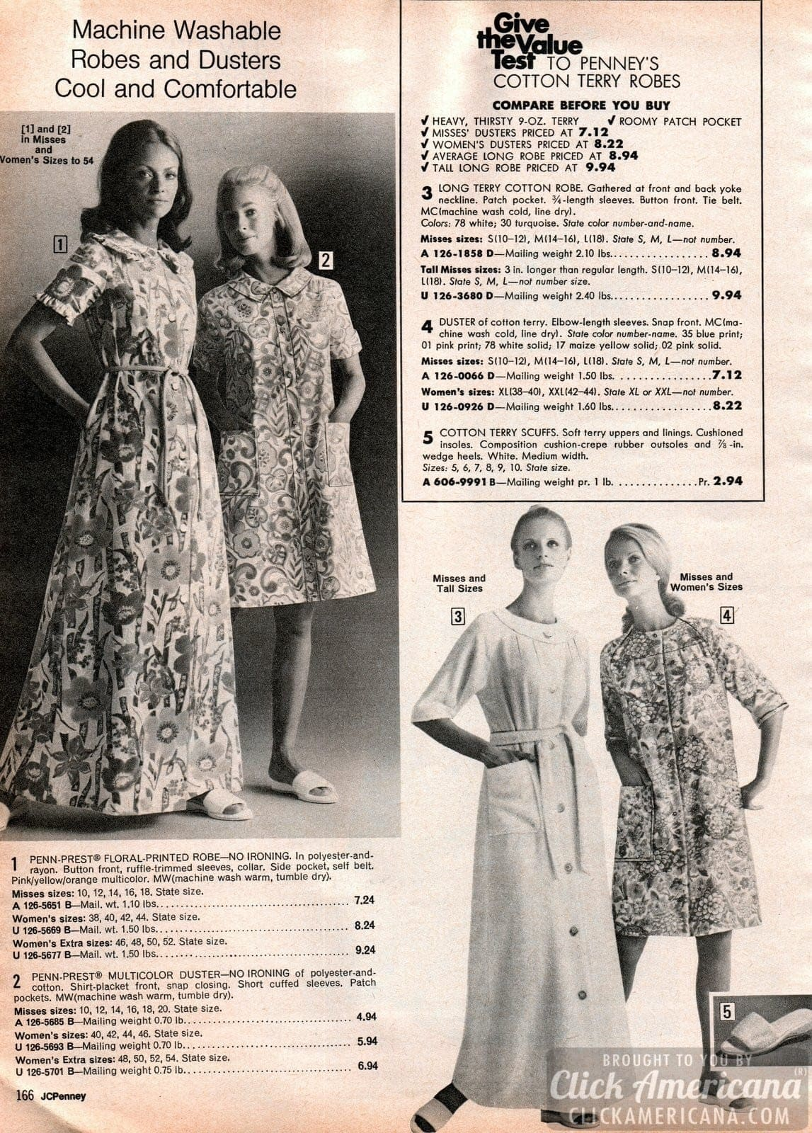 Retro 70s sleepwear for women (2)