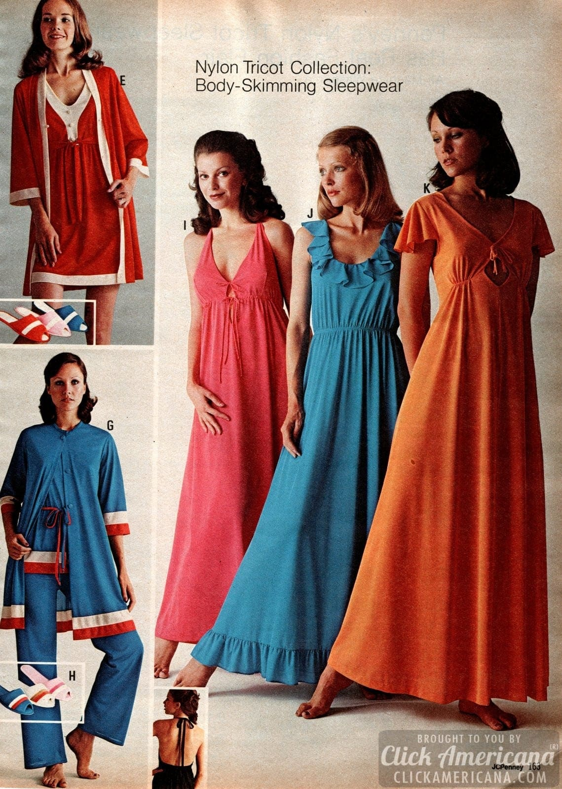 Retro 70s sleepwear for women (5)