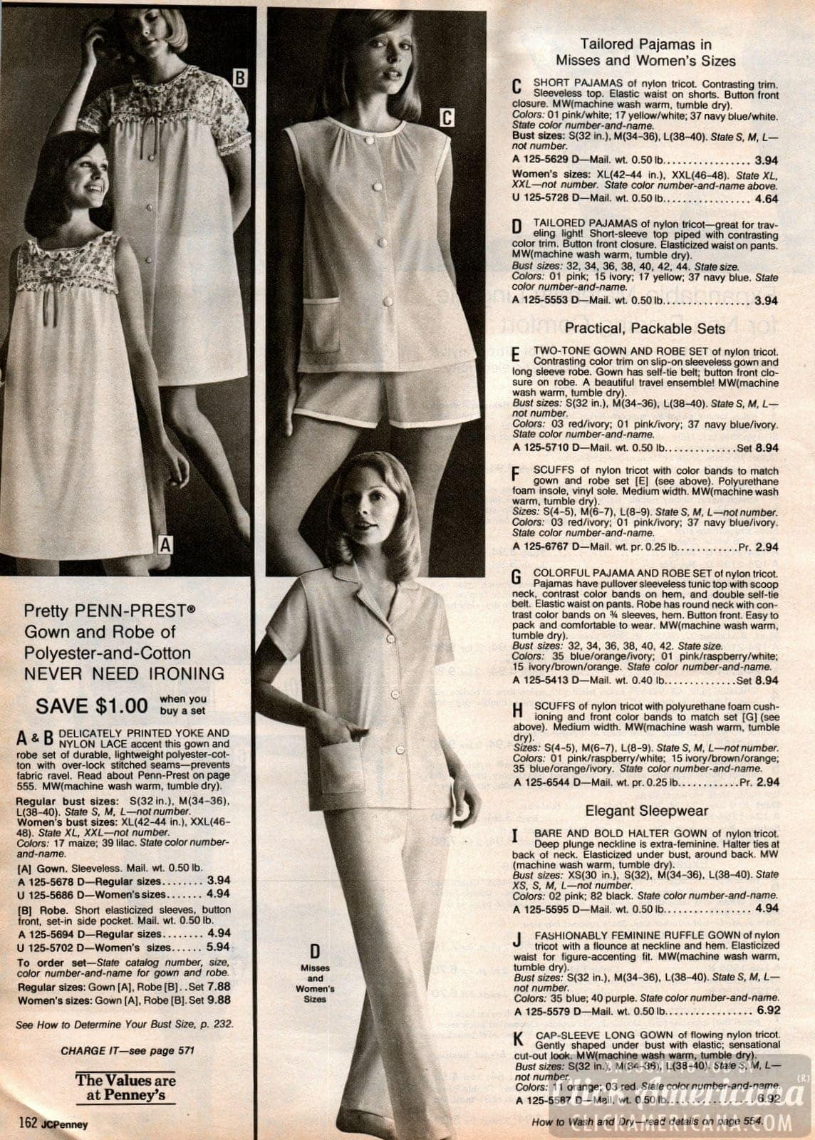 Retro 70s sleepwear for women (6)