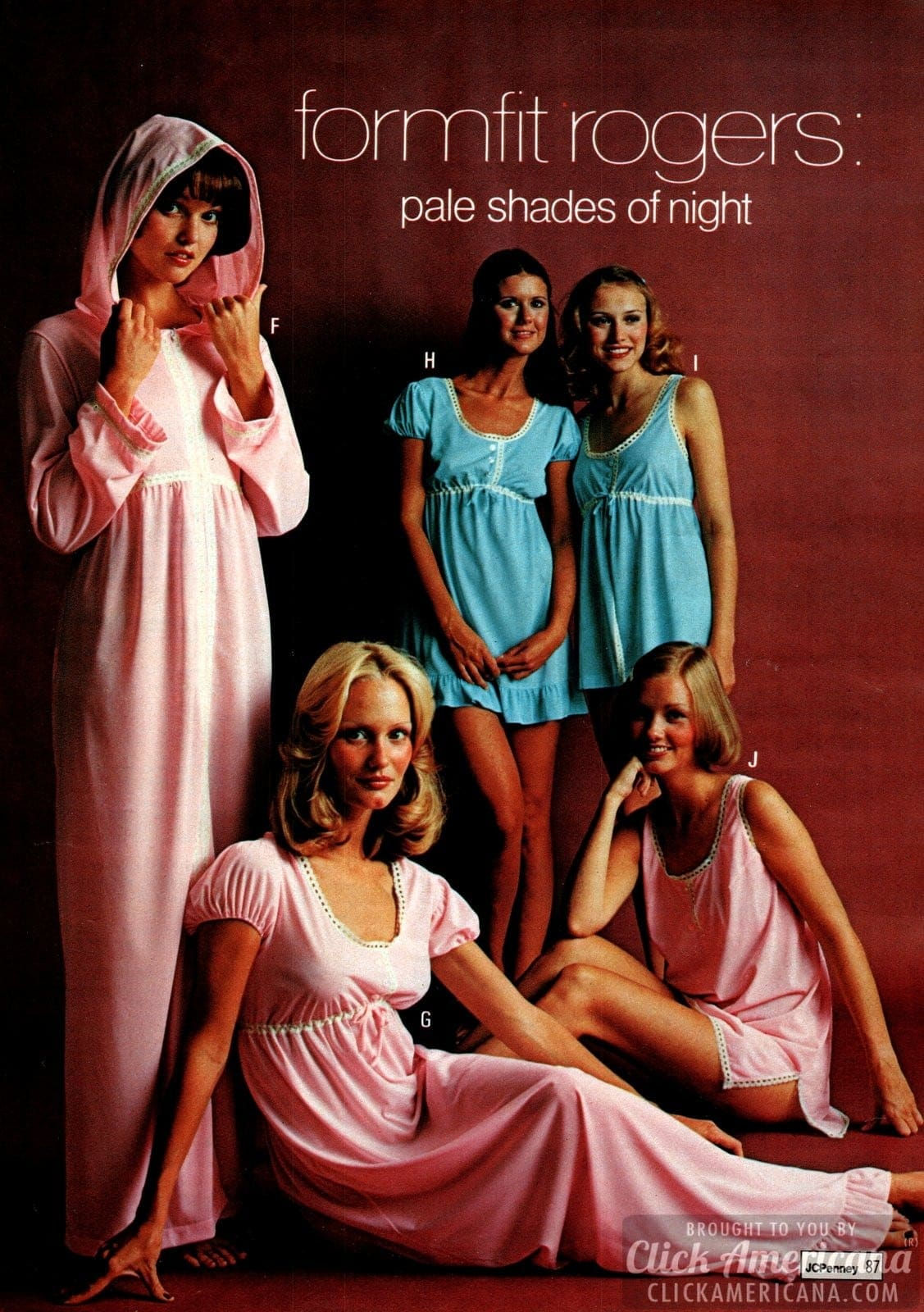 Retro 70s sleepwear for women (7)