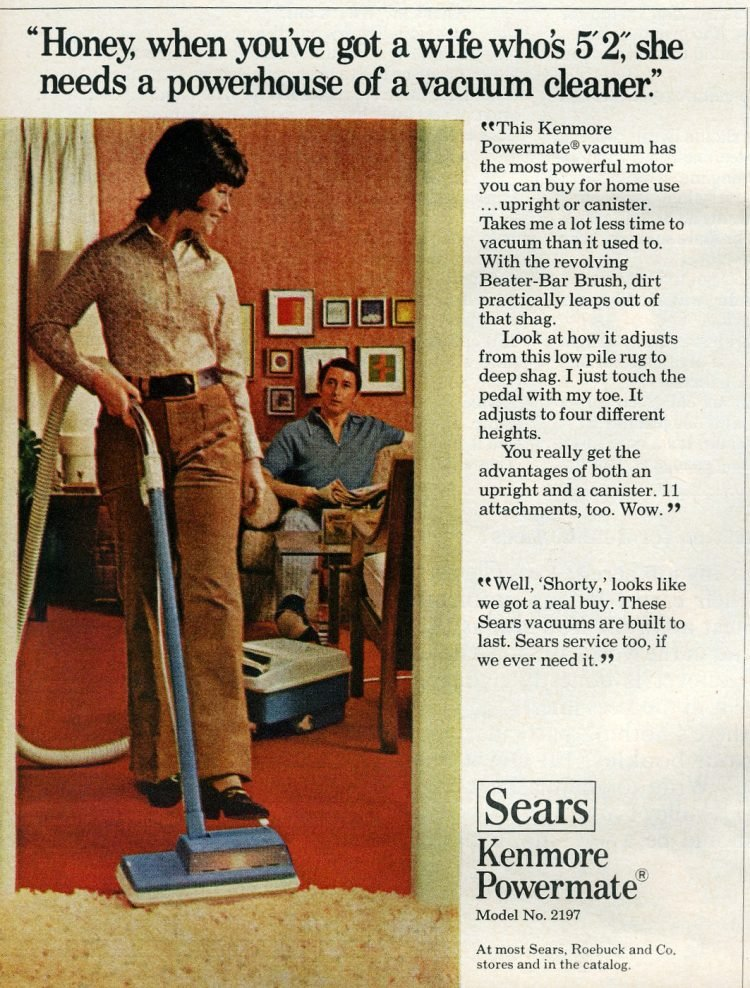 Retro 70s vacuum - Sears Powermate from 1971