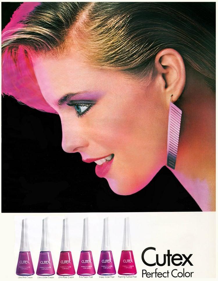 Retro 80s Cutex Perfect Color nail polish