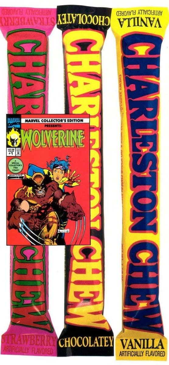 Retro 90s candy - Charleston Chew flavors (1992)