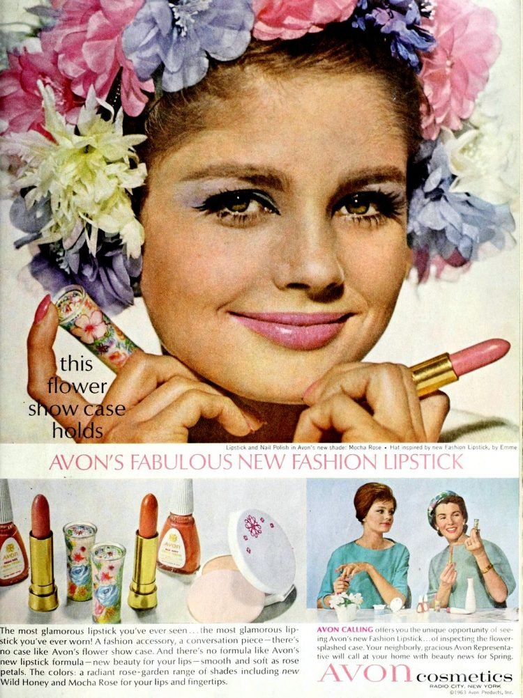 Retro Avon lipstick from 1963