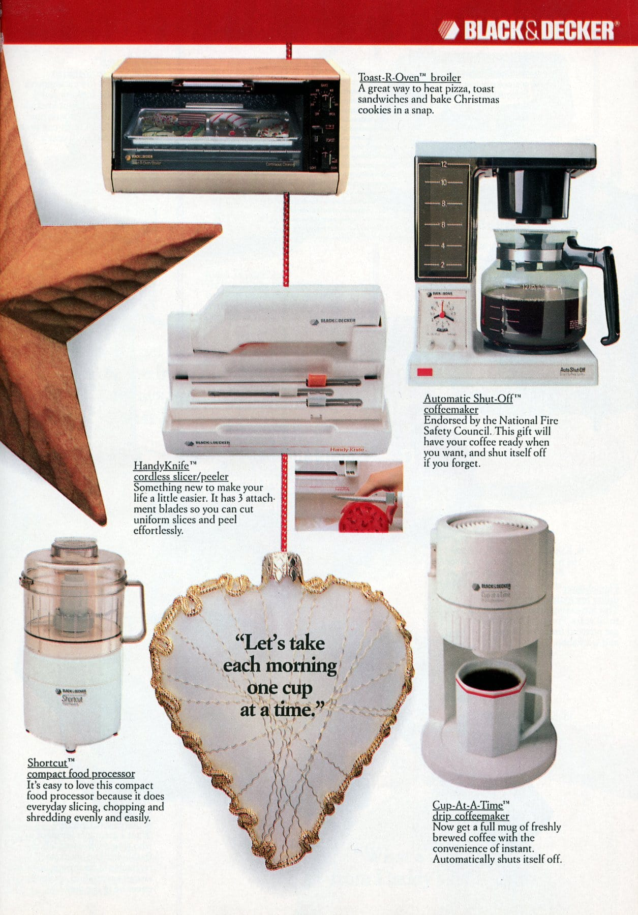 Retro Black and Decker electronics and appliances from 1987 (1)