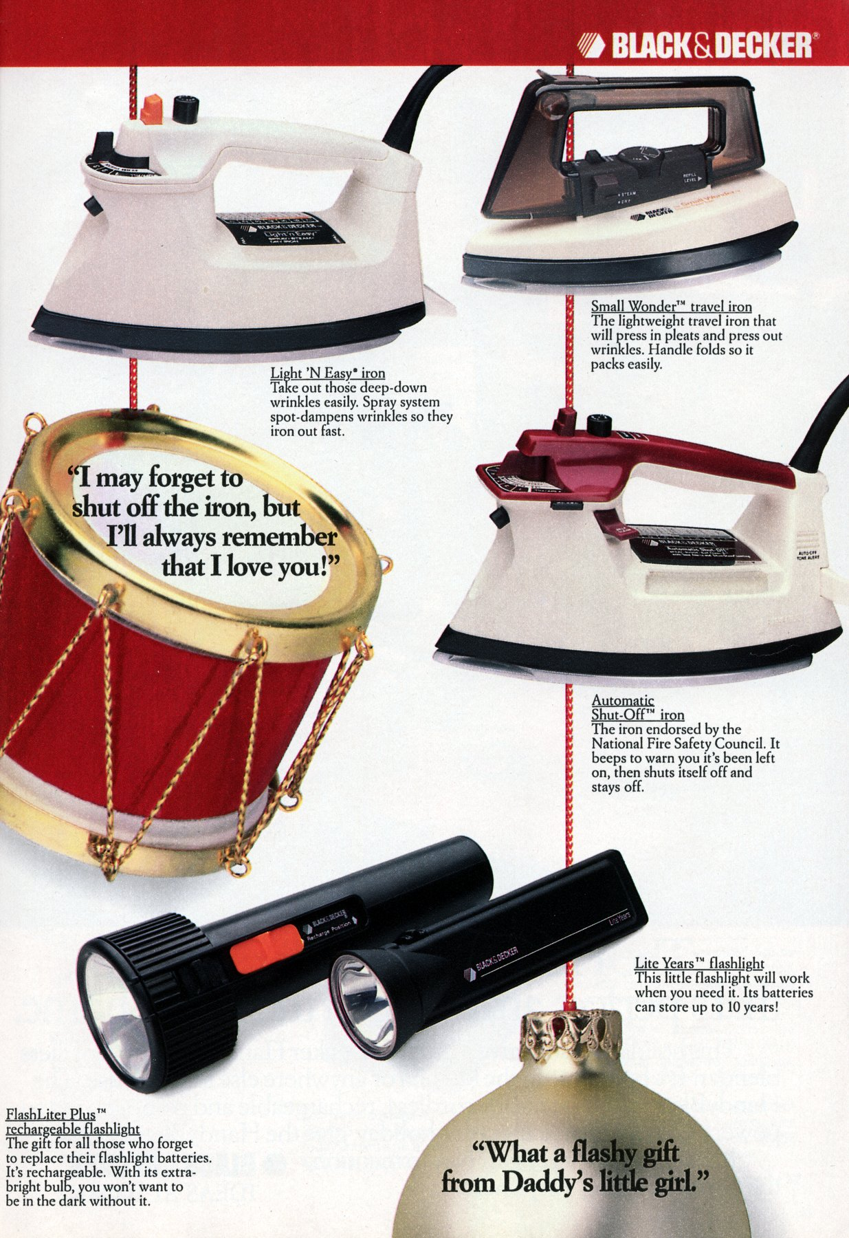 Retro Black and Decker electronics and appliances from 1987 (2)