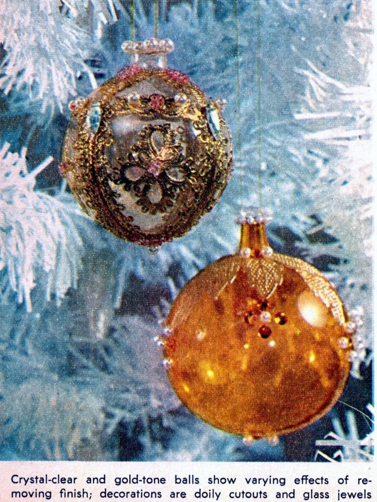 Retro Christmas ornament crafts from 1964 (1)