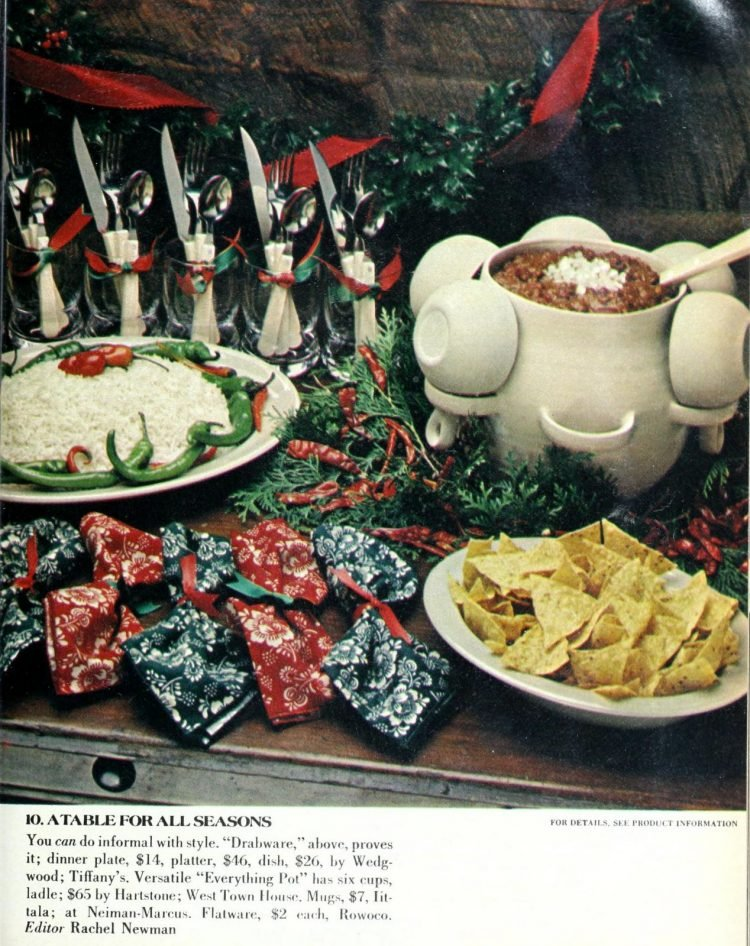 Retro Christmas table inspiration from 1978 (1)