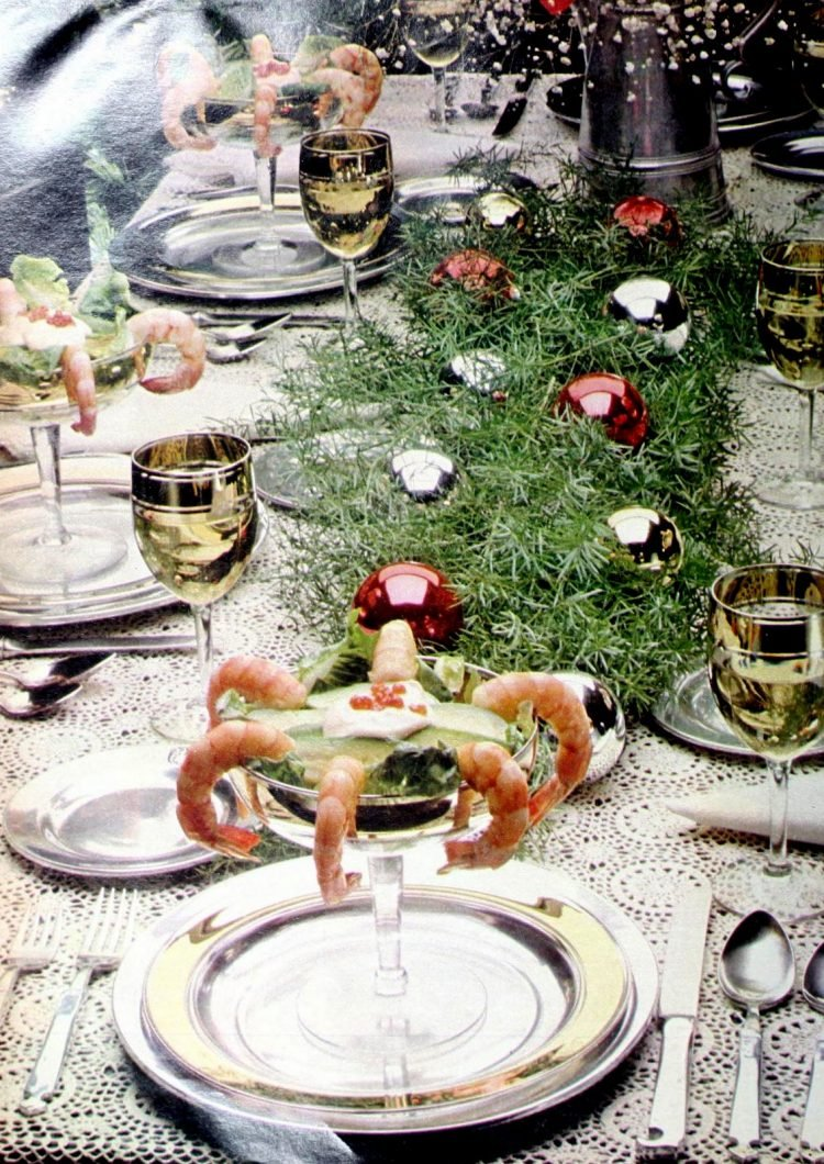 Retro Christmas table inspiration from 1978 (2)