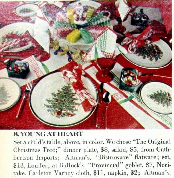 Retro Christmas table inspiration from 1978 (3)