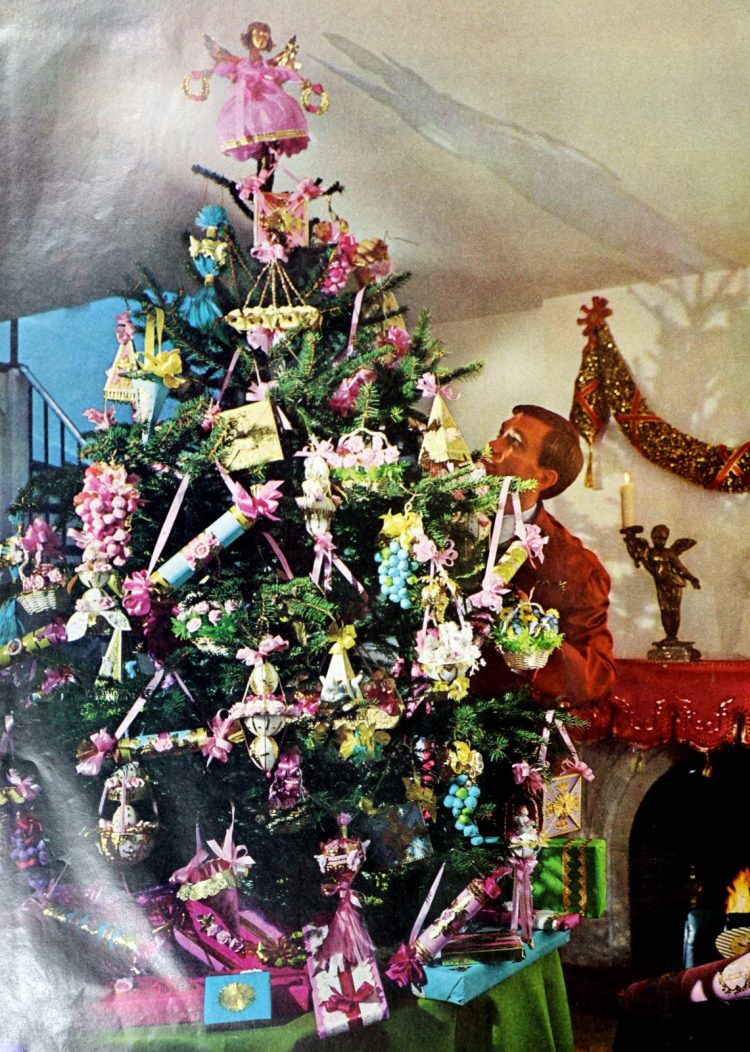 Retro Christmas tree from the sixties