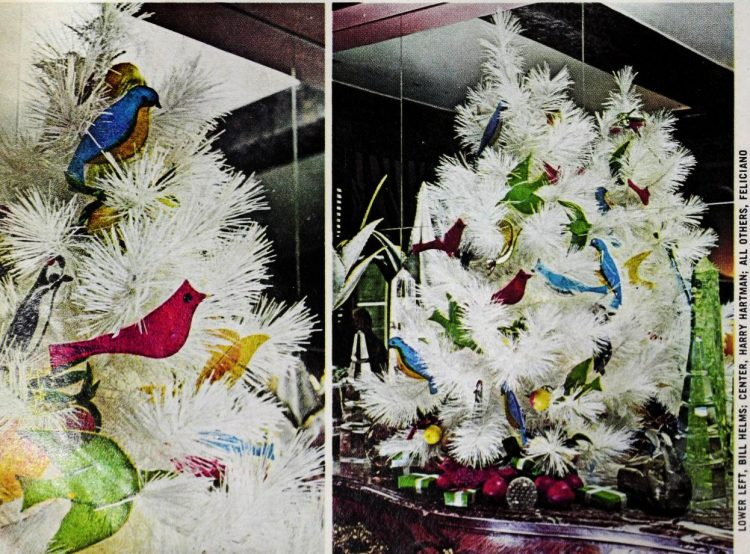 Retro Christmas trees from 1975 (2)