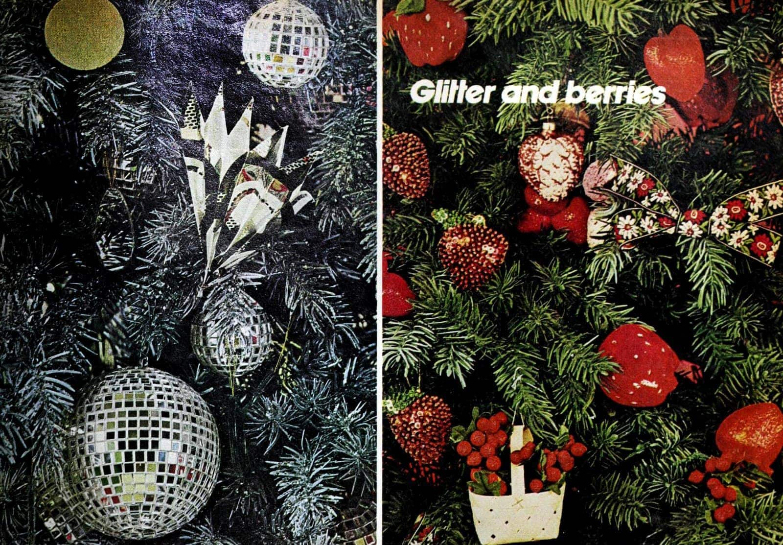 How did people decorate Christmas trees back in the 70s (1)