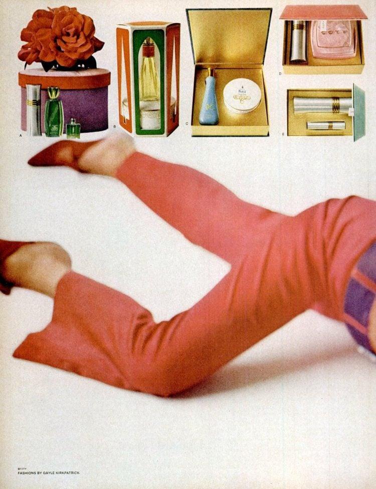 Retro Coty gift set 1965