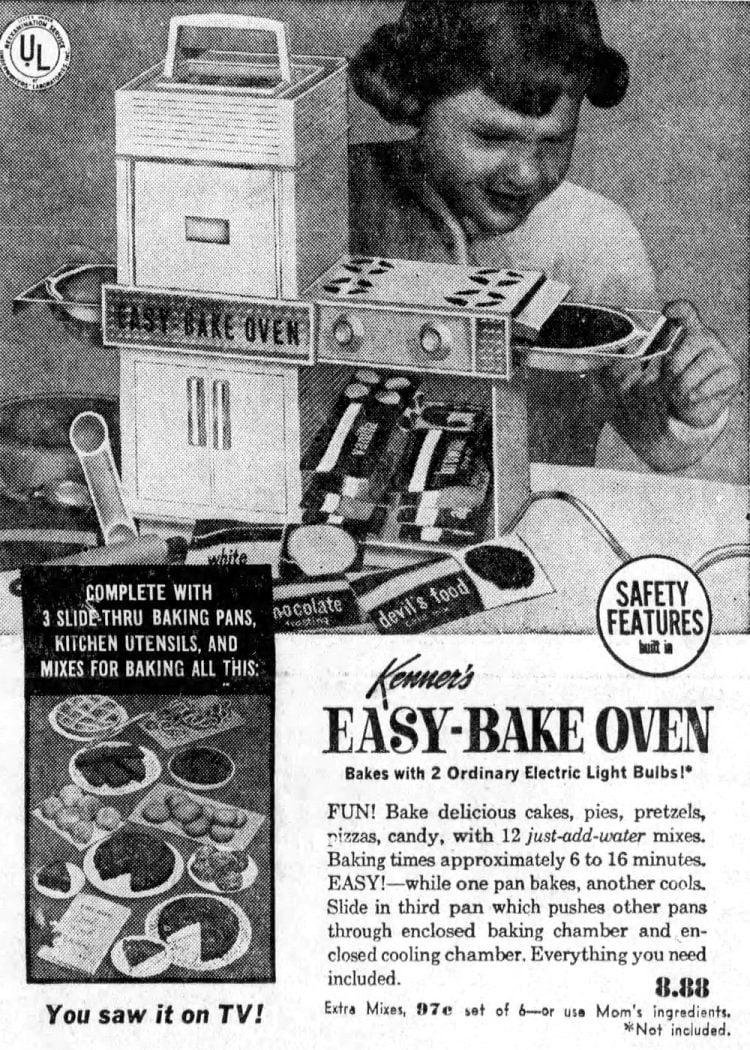 Retro Easy Bake Oven from 1967