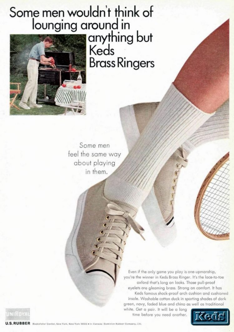 Retro Keds Brass Ringers from 1965