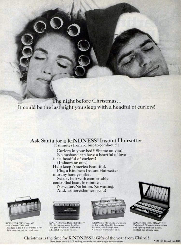 Retro Kindness rollers from 1968