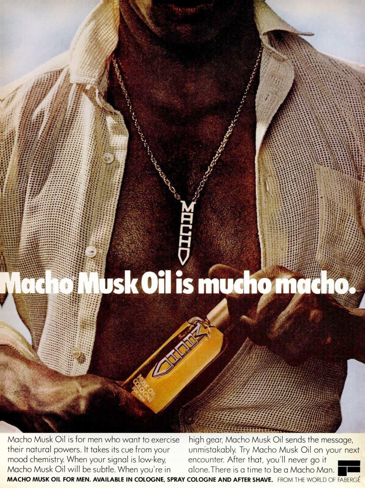 Retro Macho Musk Oil for men (1978)