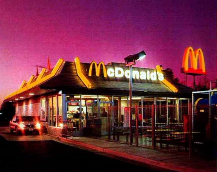 Retro McDonald's restaurants from the 90s (1)