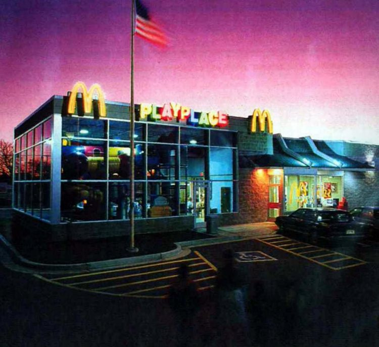 Retro McDonald's restaurants from the 90s (2)