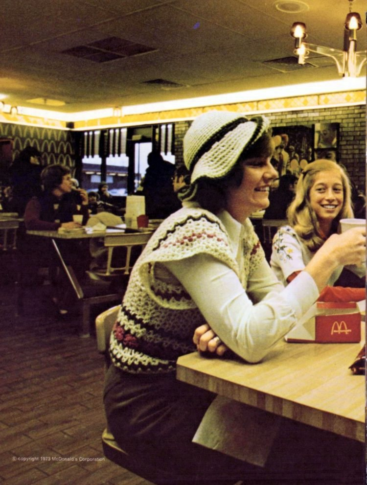 Retro McDonalds stores in the 70s (1)