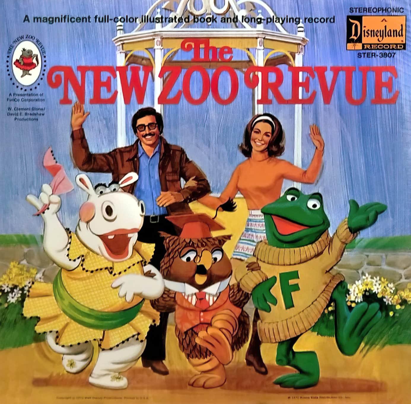 Retro New Zoo Revue book and record (1970s)