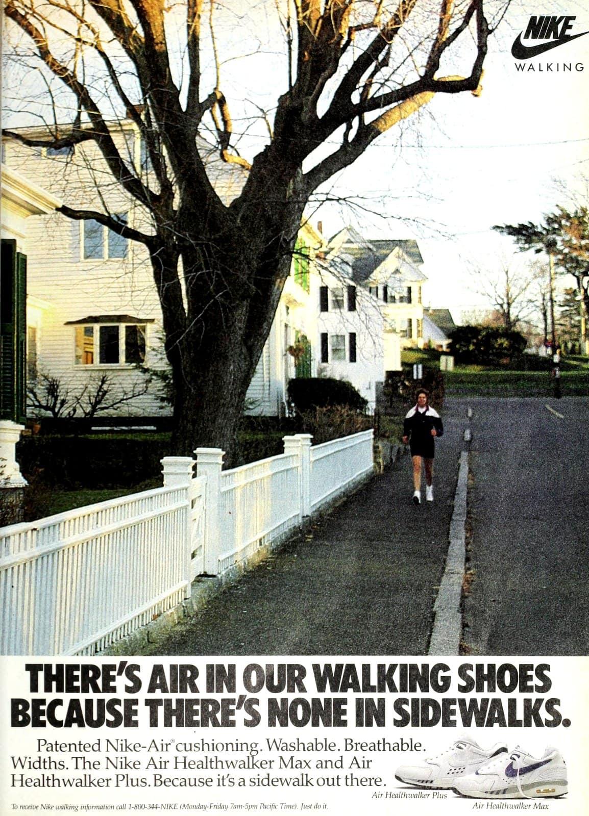 Retro Nike walking shoes (1989)