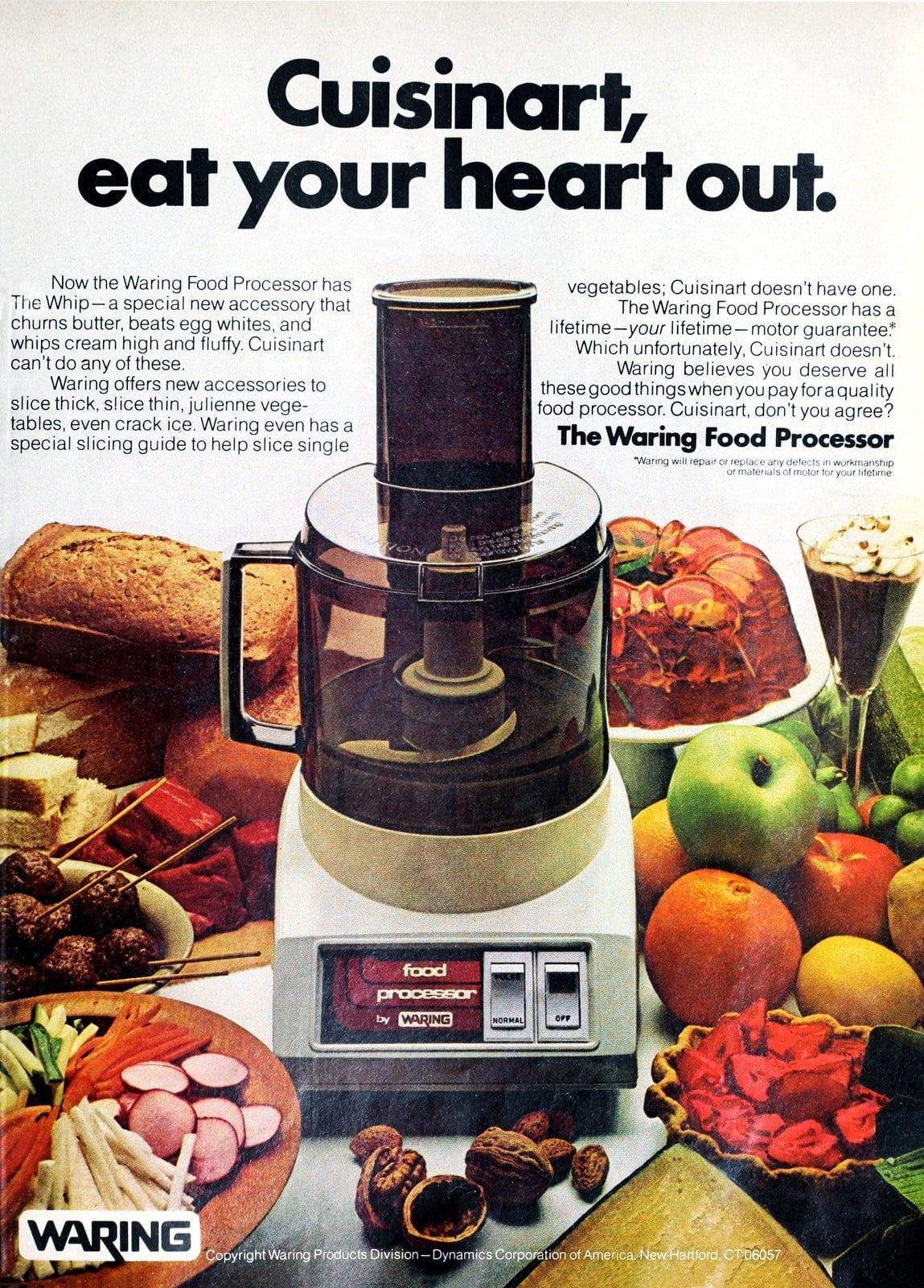 Retro Waring food processor (1978)
