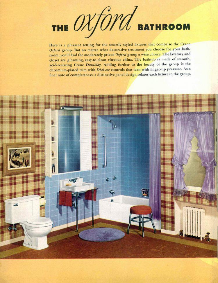Retro bathroom decor from the 1940s (6)