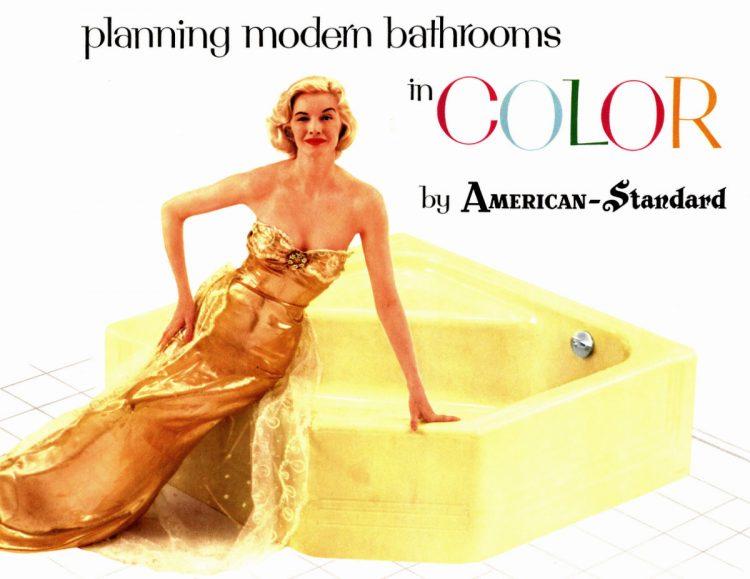 Retro bathrooms - American Standard 1958 (2)