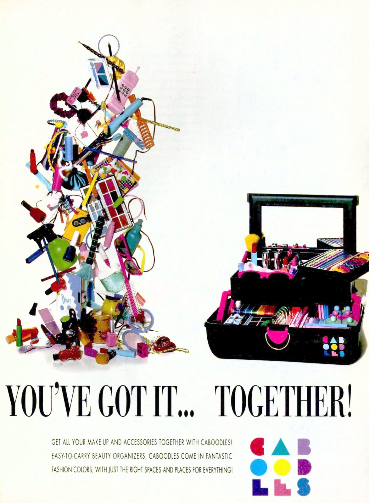 Retro beauty organizers -- Caboodles (1991)