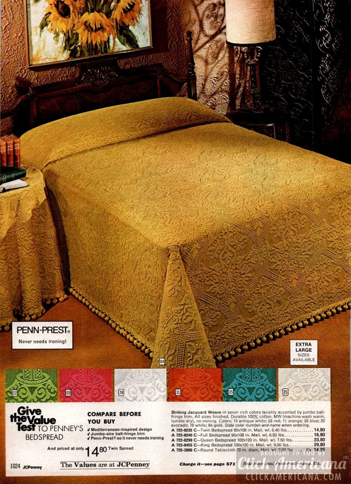 Retro jacquard weave textured bedspreads in 6 colors
