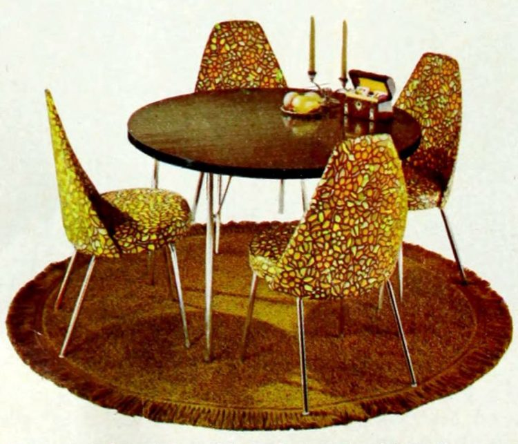 Retro dinette from 1966