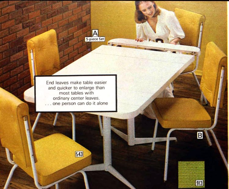 Retro dinette sets from the '70s (3)