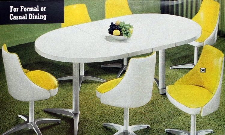 Retro dinette sets from the '70s (4)