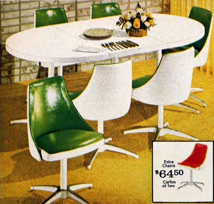 Retro dinette sets from the '70s (5)