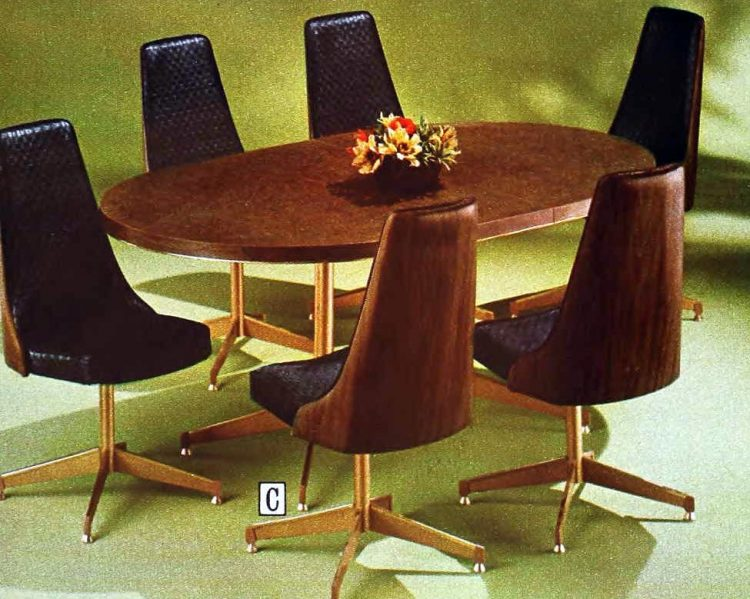 Retro dinette sets from the '70s (6)