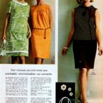 Sassy '60s double knit dresses