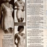 Retro girdles and corselets with garters (1)