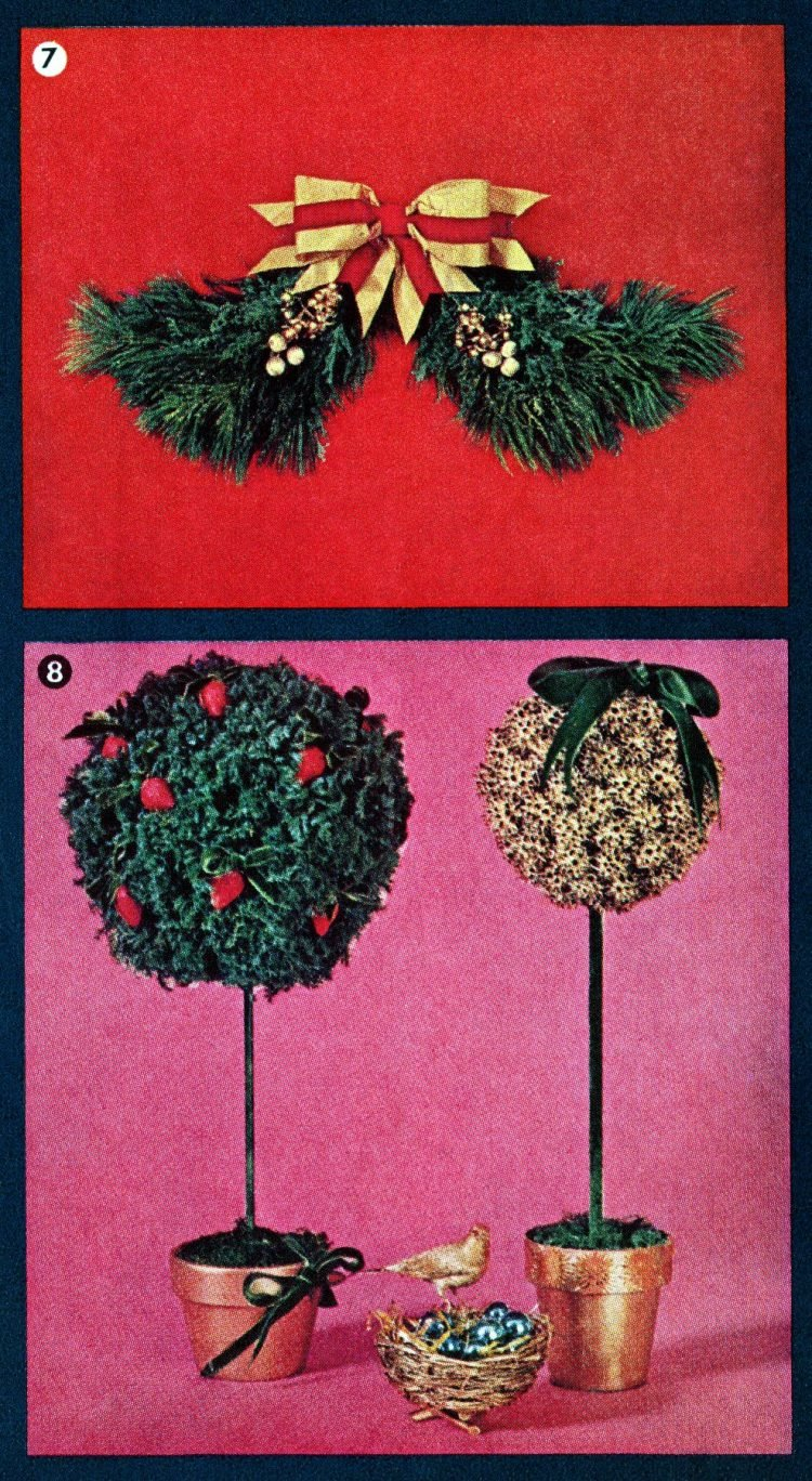 Retro holiday decor you can make (2)
