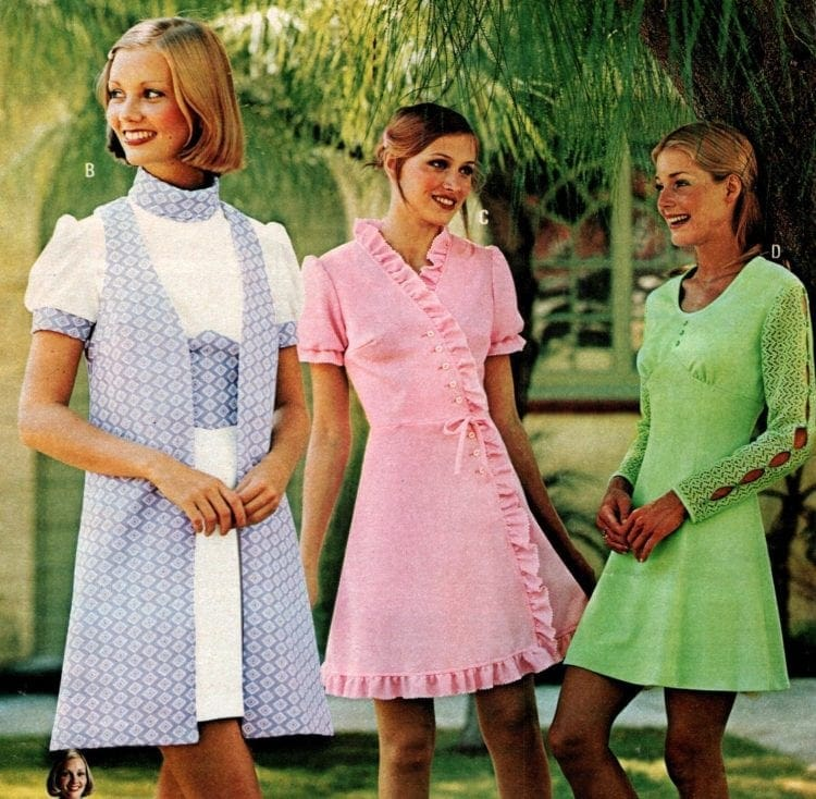 Vintage dresses - Womenswear from the 1970s