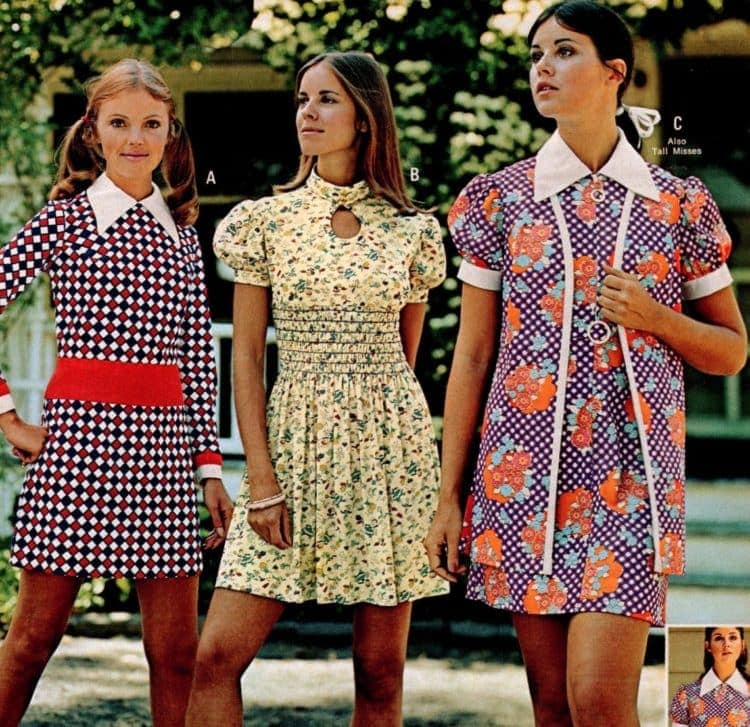 Vintage dresses - Women's clothing from 1973