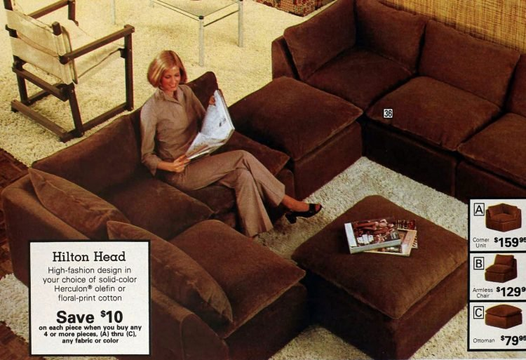 Retro modular sofas from the 1970s (3)