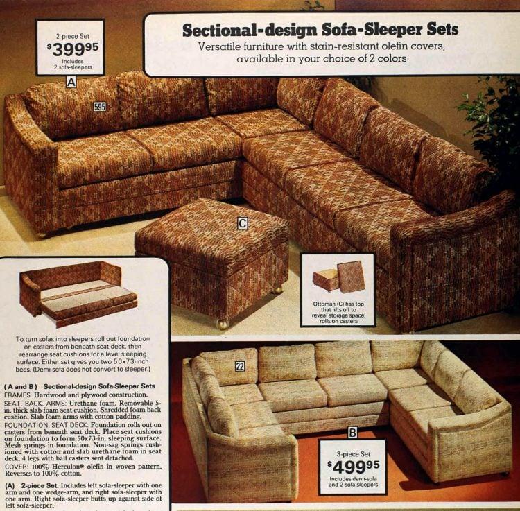 Retro modular sofas from the 1970s (4)