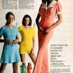 Juniors pastel pants - 70s fashion for women from the 1973 JC Penney Catalog