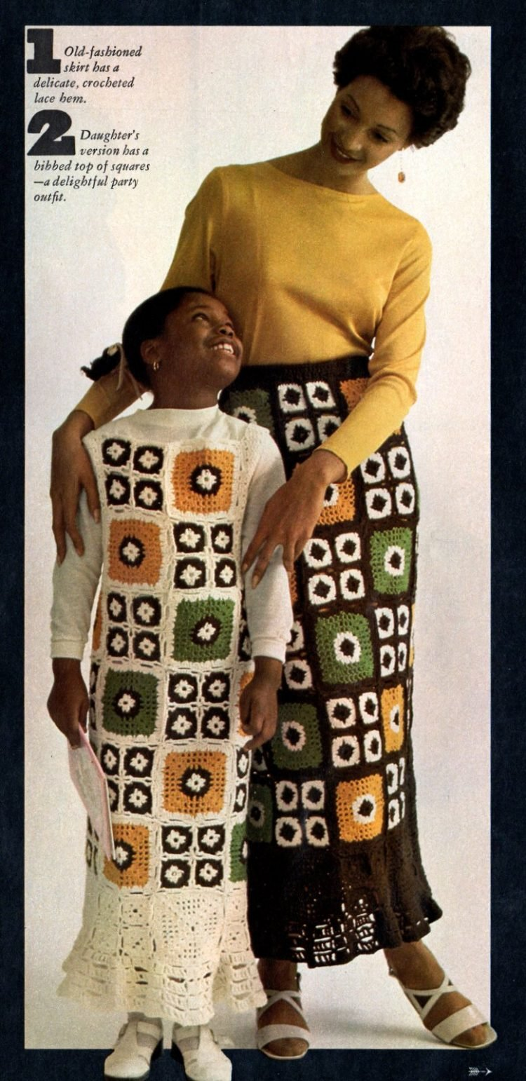 Retro projects to crochet with granny squares 1970s (3)