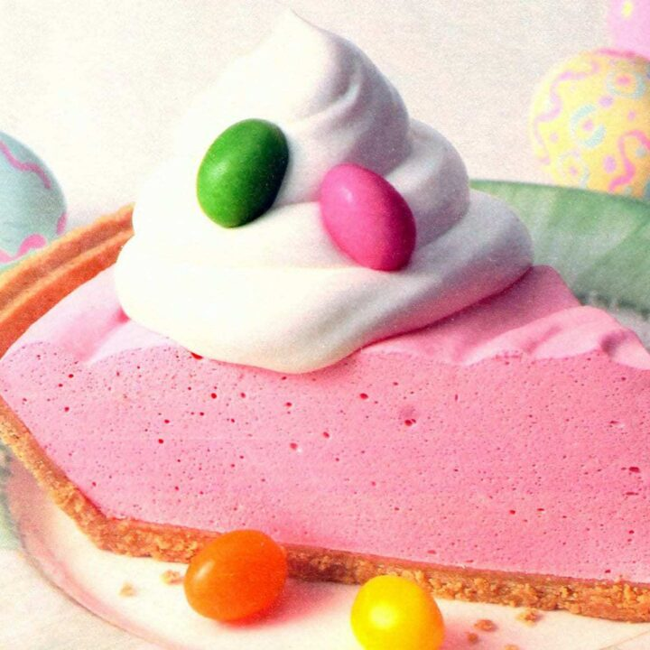 Retro recipe Cool n easy Easter pie (1996)